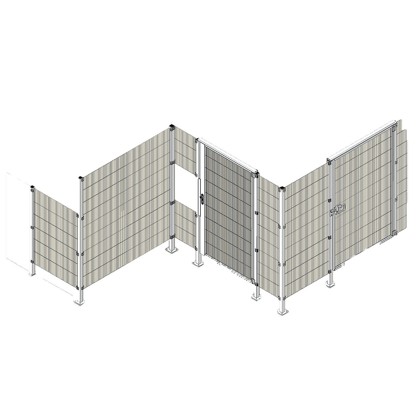 TOOL MOVER PRO protective fence